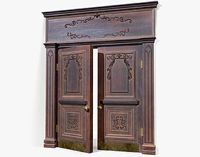 Doorway lowpoly 3D model