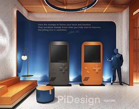 Unmanned Smart Hotel 3D