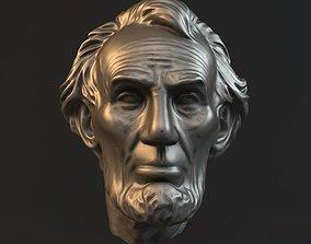 Lincoln head statue 3D printable model