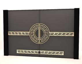 MAIN GATE 3D asset