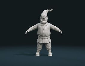 Gnome Sculpture 3D printable model