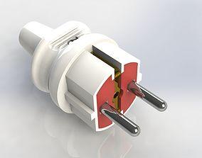 Electric plug mk 2b 3D