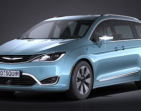 3D Chrysler Pacifica 2017