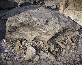 3D asset Arid Environment Rocks