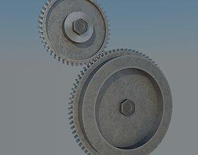 3D model Spur gear gears