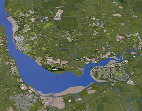 3D model Liverpool City England
