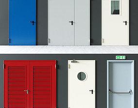 Novoferm Elite Fire Doors 3D