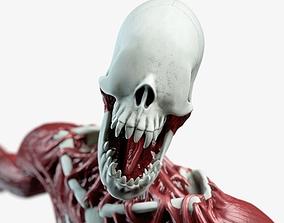 3D model rigged Nightmare monster
