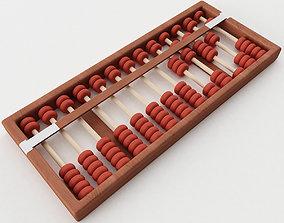 3D model Abacus teeth
