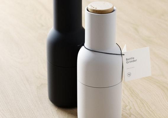 Menu Bottle Grinders - Final Exam Project