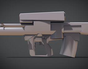 XM25 Gun 3D printable model
