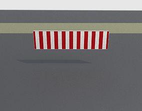 3D model Construction Barrier Version 2 600-38 500x2000mm