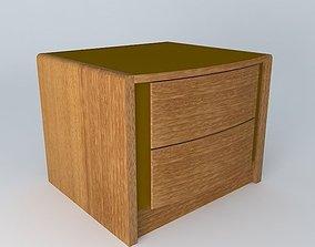 3D simple BedsideTable