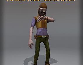 NPC Uolly 3D asset