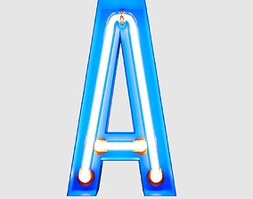 3D Neon Typography 2