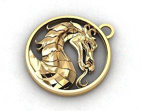 luster 3D printable model dragon