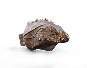 3D print model Reptile head