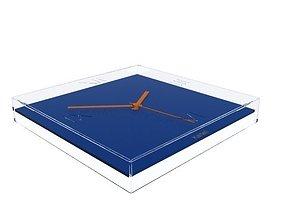 Kartell TicTac Clock 3D model wall