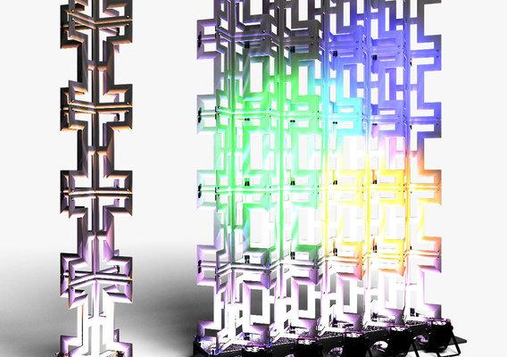 Stage Decor 26 Modular Wall Column