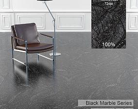 Black Marble Texture 4 3D model