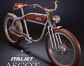 3D model Ascot Italjet Electric Bike