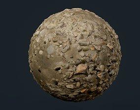 Sand Stones Rock Seamless PBR Texture 3D