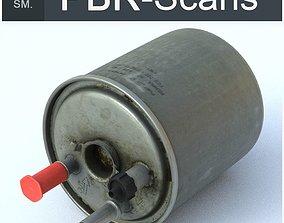 3D asset VR / AR ready Fuel Filter Low SM