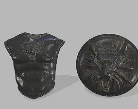 3D asset realtime armor set