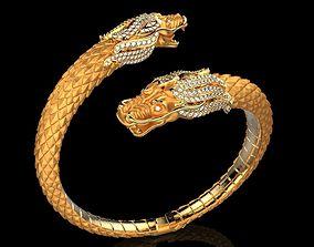 Carrera y Carrera bracelet Circulos de 3D print model