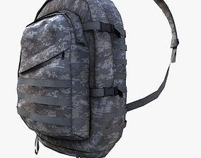 US Marine Back Pack 3D model