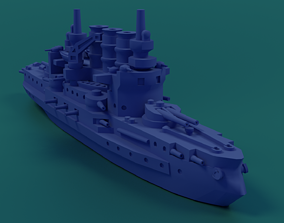 SMS Braunschweig 1902 3D printable model