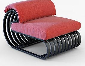 3D Contour Lounge Chair