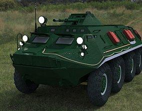 BTR-60 high-poly 3D model