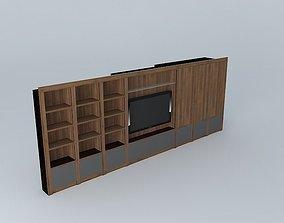 Wall furniture 3D