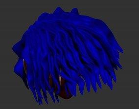 Sculpting hair for 3D printing
