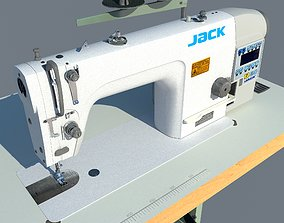 Industrial sewing machine Jack JK-Shirley IIE 3D