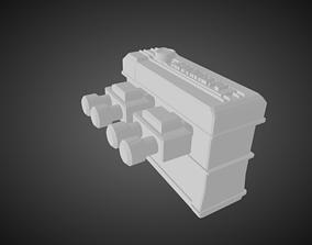 Datsun L16 Engine for Hotwheels 3D printable model