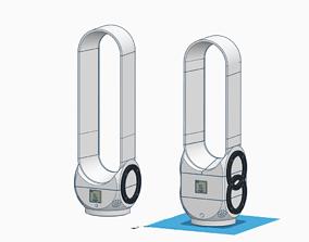 3D printable model Desktop Bladeless Air Multiplier Fan