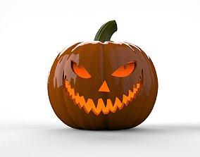 3D print model Cheshire Cat Jack O Lantern Pumpkin