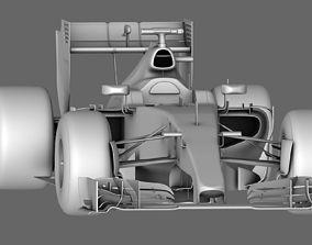 F1 Mercedes AMG W06 Season 2015 3D model