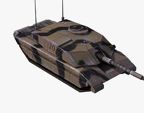 3D model Challenger2 Tank