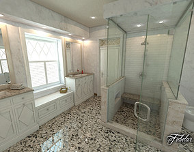 3D interior Bathroom