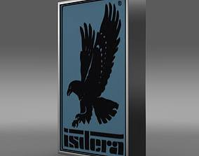 Isdera Logo 3D model