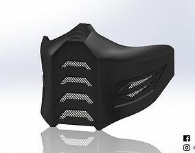 Mask inspired by Moral Kombat for 3D printable model 1
