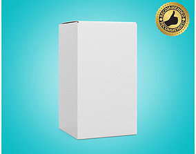 3D Box Cardboard