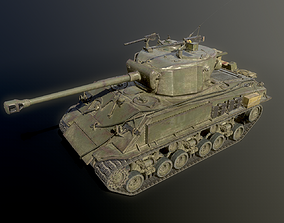 3D America M4 Sherman Medium Tank USA