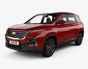 3D model Chevrolet Captiva TH-spec 2019