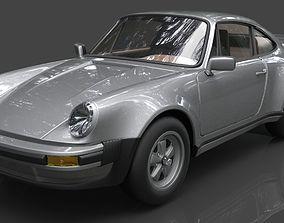 carrera 3D model Porsche 911
