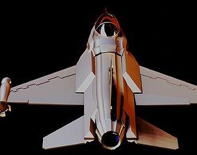 3D asset Fighter Jet F16