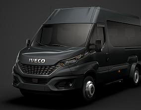 3D model Iveco Daily Minibus L3H2 2020